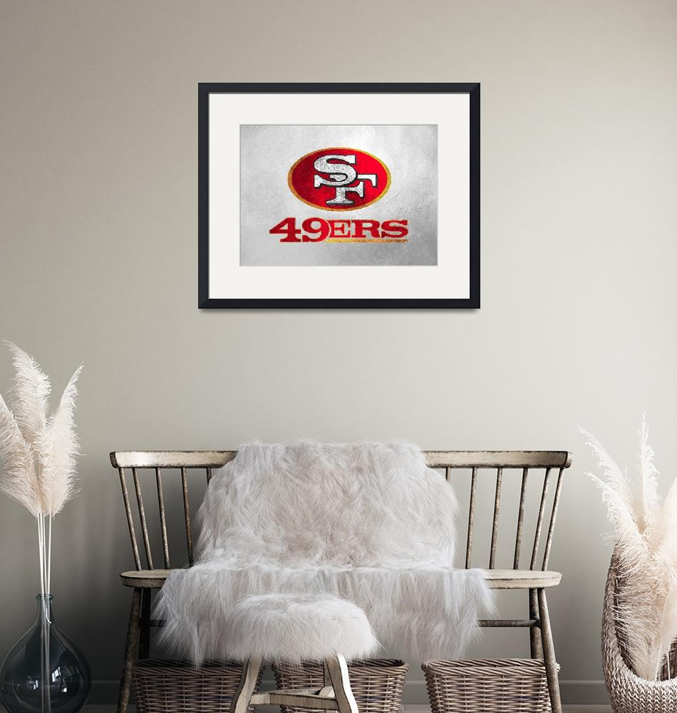 """""""San Francisco 49ers""""  (2019) by ABConcepts"""
