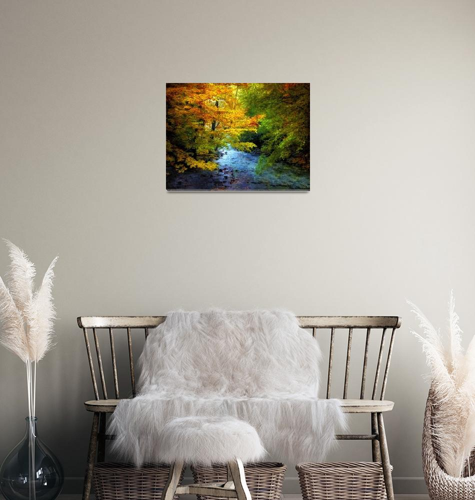 """""""River View Autumn""""  (2010) by JessicaJenney"""