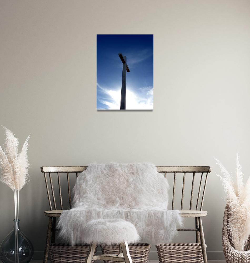 """Giant Cross""  (2009) by Alvimann"