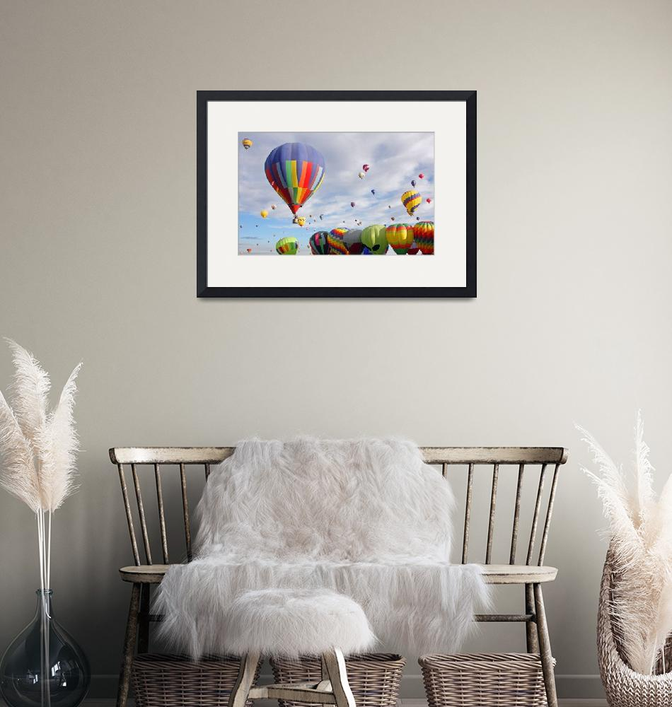 """""""Hot Air Balloons""""  (2010) by debby19"""