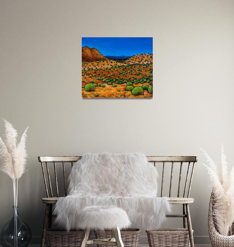 """Desert Afternoon""  (2011) by jhfineart"