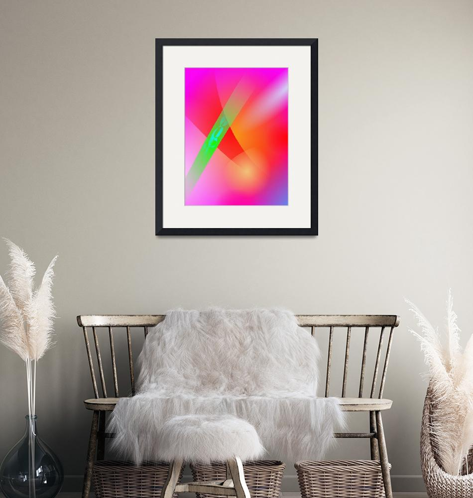 """""""Contrast Pink""""  by masabo"""