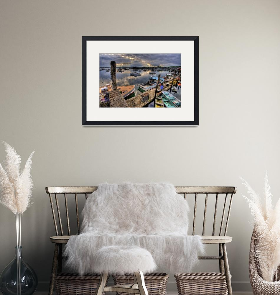 """""""Boothbay Harbor at Day"""