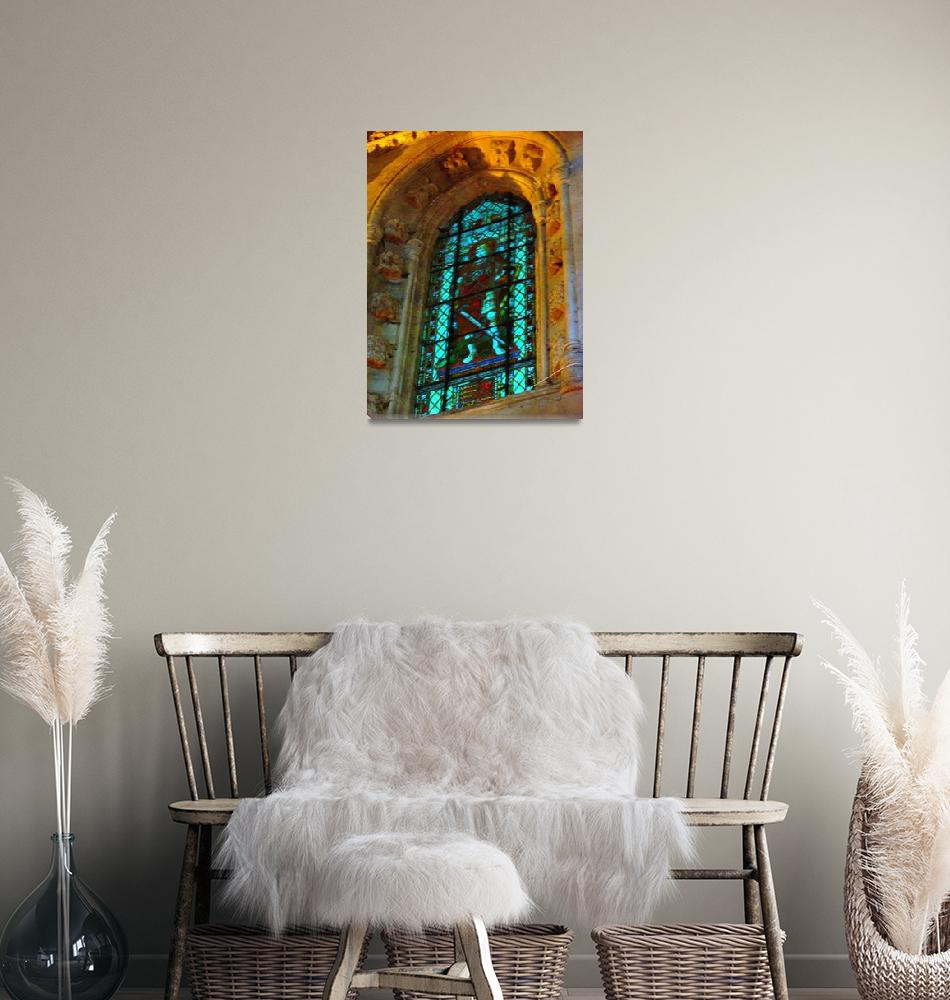 """""""chapel glass 6""""  (2008) by Jessica519"""