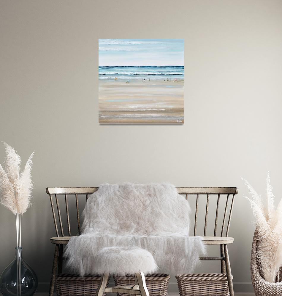"""""""Beach Day""""  by ChristineBell"""