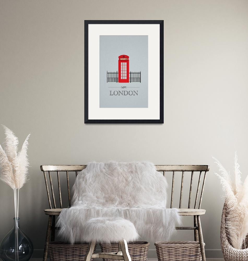 """""""London Phone Booth""""  (2011) by GraphicArc"""