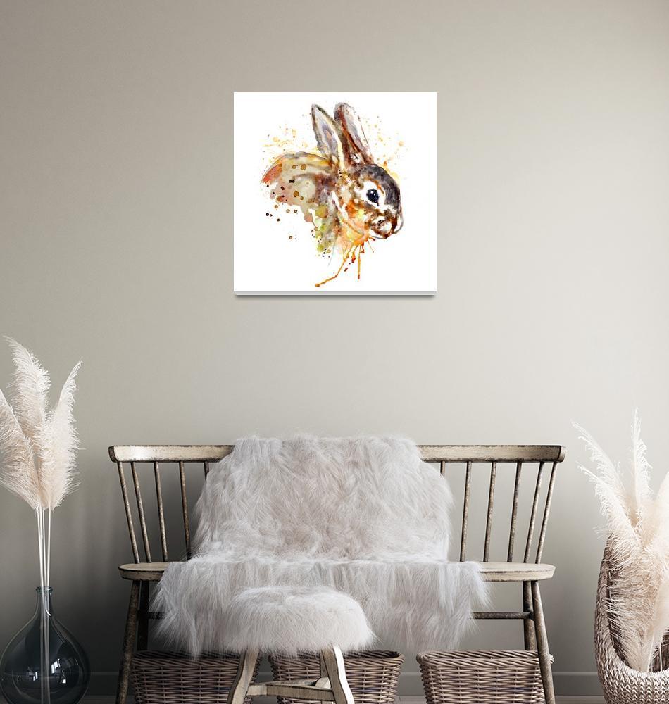 """Mr. Bunny""  (2017) by MarianVoicu"