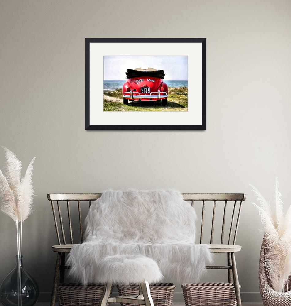 """""""VW on the beach - 1""""  (2012) by getshaped"""