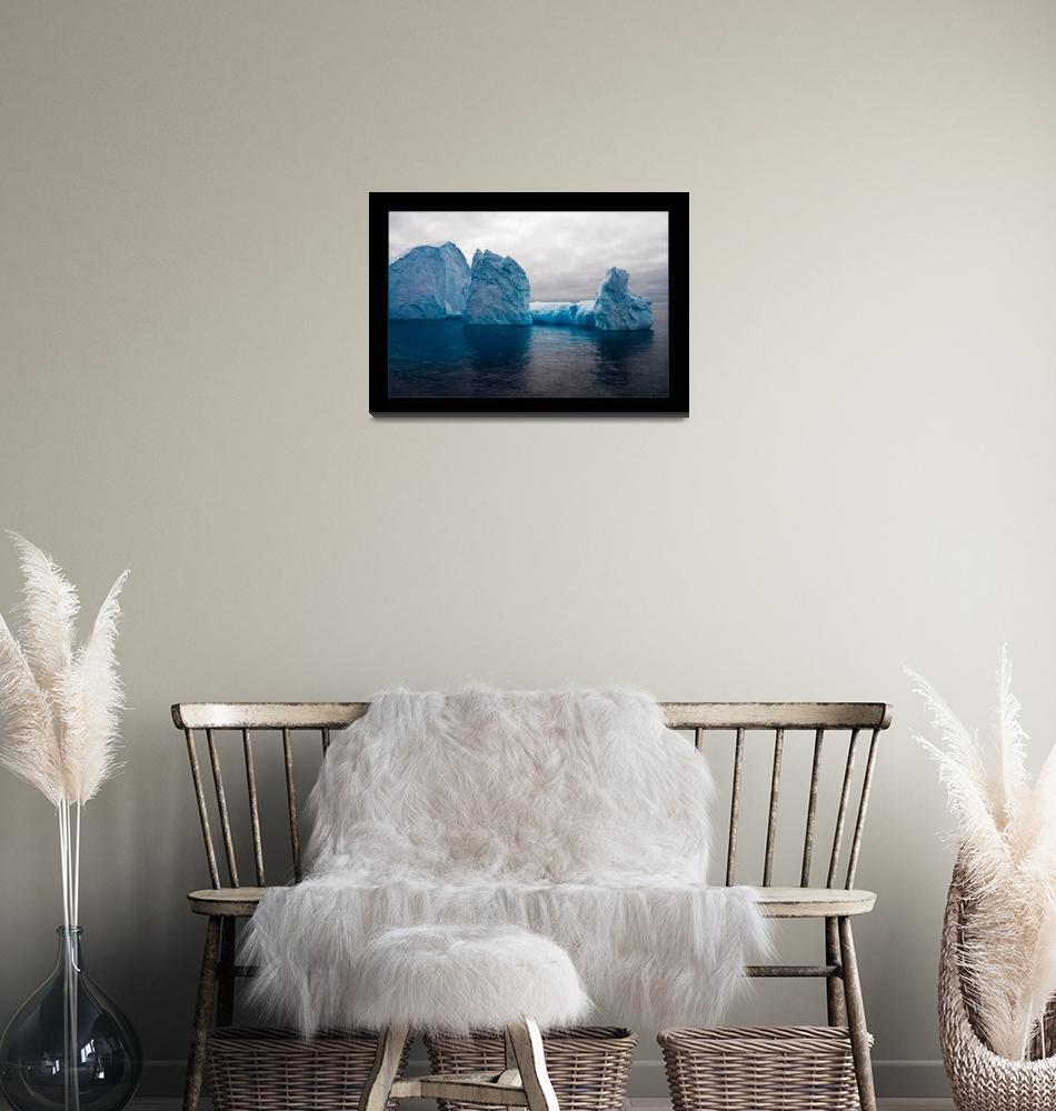 """Iceberg in Antarctica""  (2003) by Achtel"