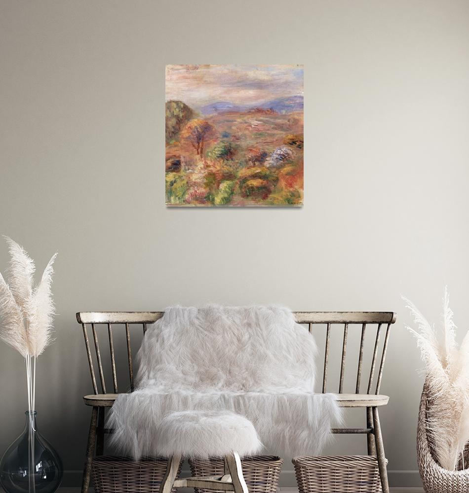 """""""Landscape by Renoir""""  by FineArtClassics"""