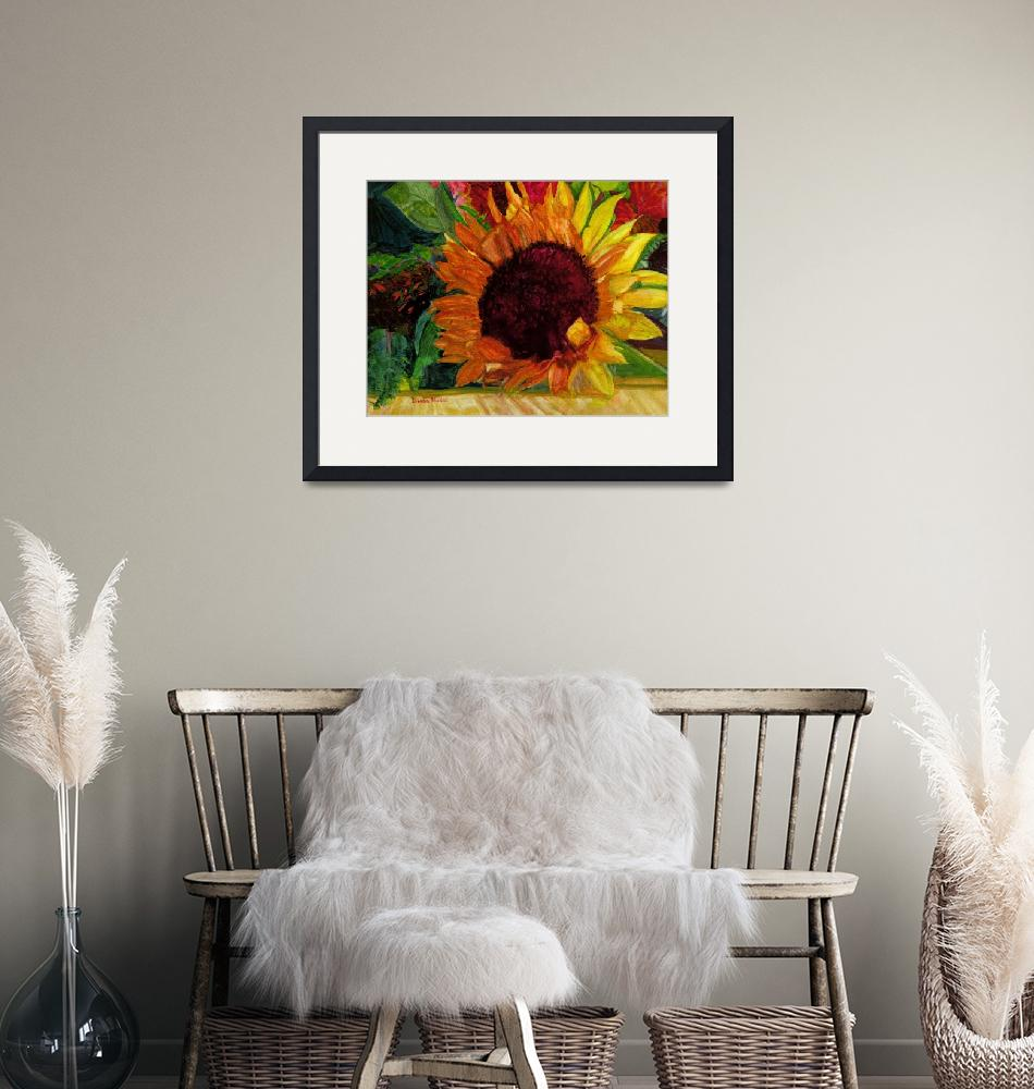 """Sunflower_Splendor""  (2011) by DianaNadalFineArt"