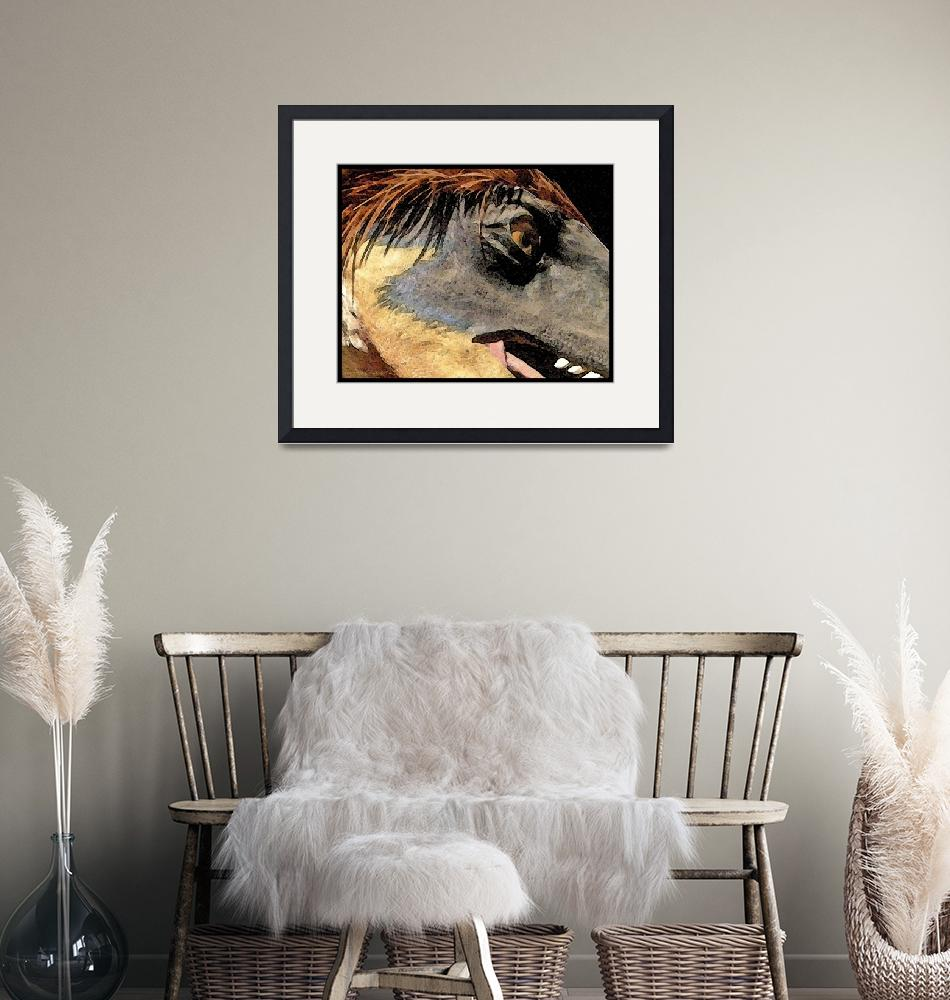 """""""Dinosaur Watercolor""""  by HodlinGallery"""