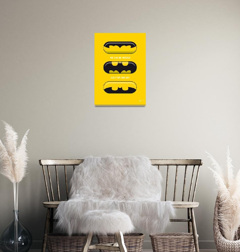 """My SUPERHERO PILLS - Batman""  by Chungkong"