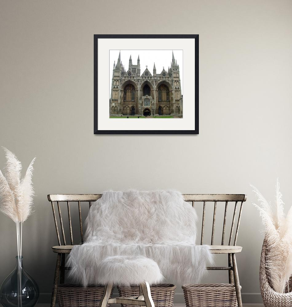 """""""Peterborough Cathedral""""  by bespokepix"""