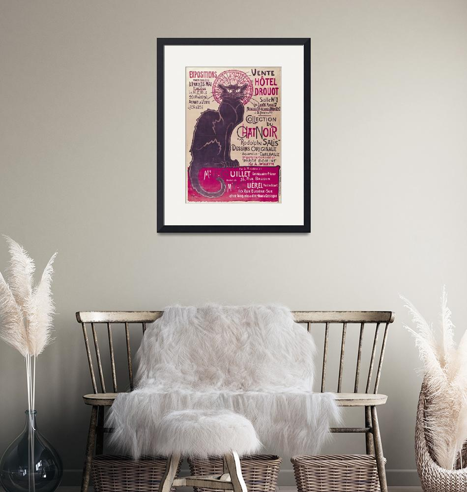 """Poster Collection du Chat Noir cabaret""  by fineartmasters"