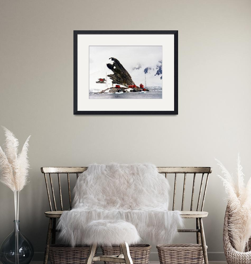 """""""Brown Research Station Antarctica""""  by AnnTuck"""