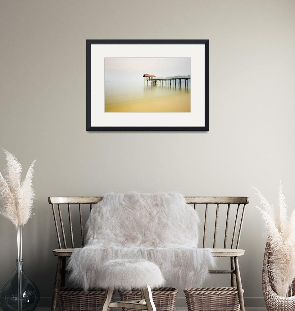 """Seascapes Art Print""  (2010) by howpin"