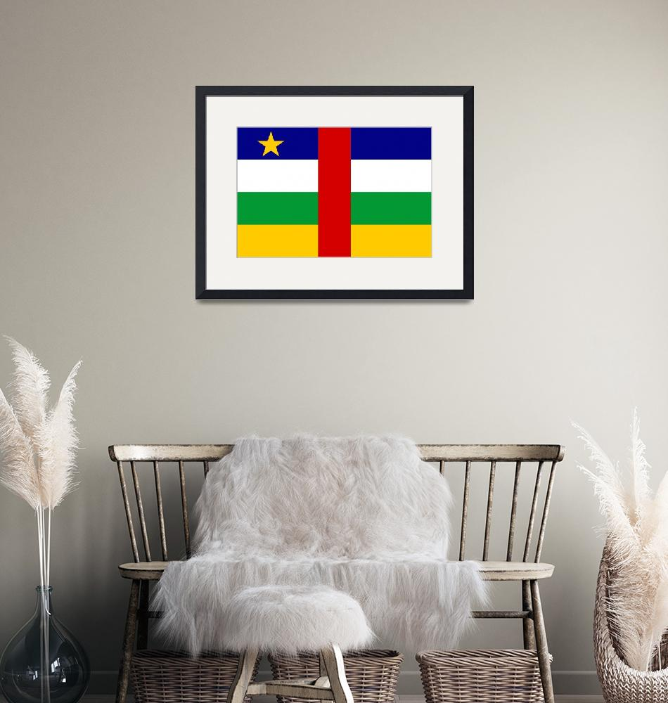 """""""Central African Republic""""  by tony4urban"""