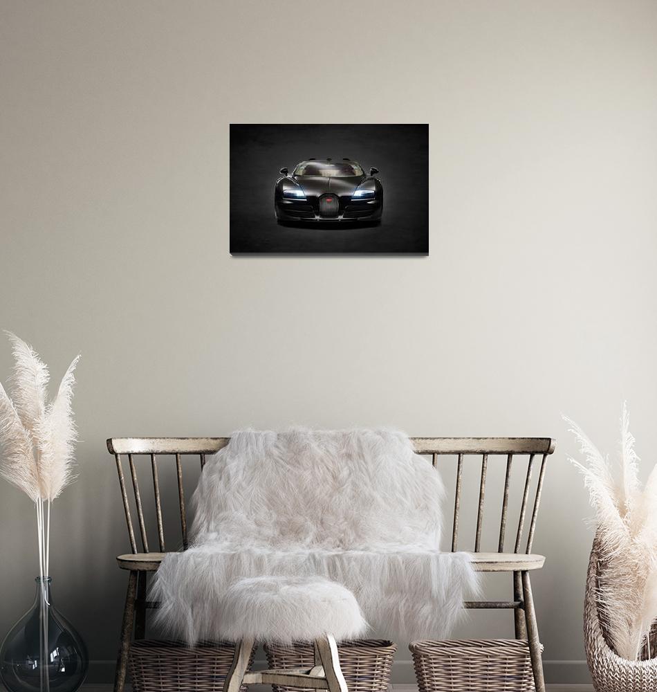 """Bugatti Veyron""  (2013) by mark-rogan"