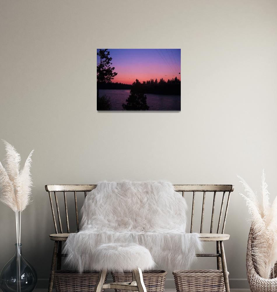 """Badger Lake Early Morning""  (2010) by christophergombosky"