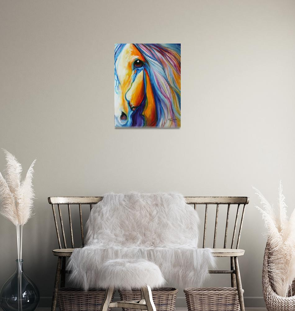 """""""MAJESTIC HORSE""""  (2011) by MBaldwinFineArt2006"""