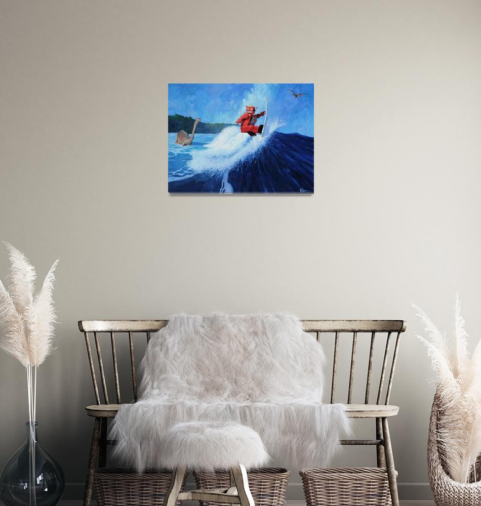 """Surfer Joe""  (2012) by Tinman"