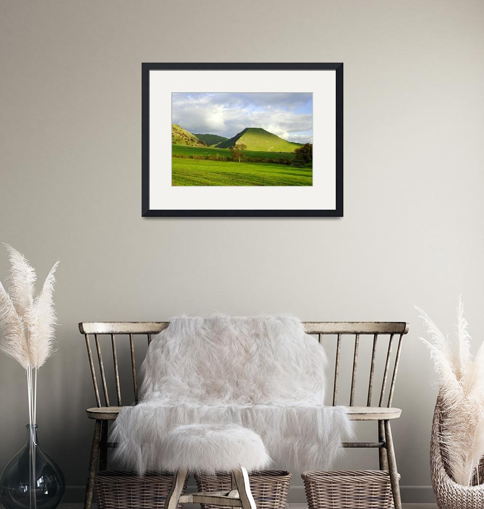 """""""Thorpe Cloud from Bunster Hill (26936-RDA)""""  (2010) by rodjohnson"""