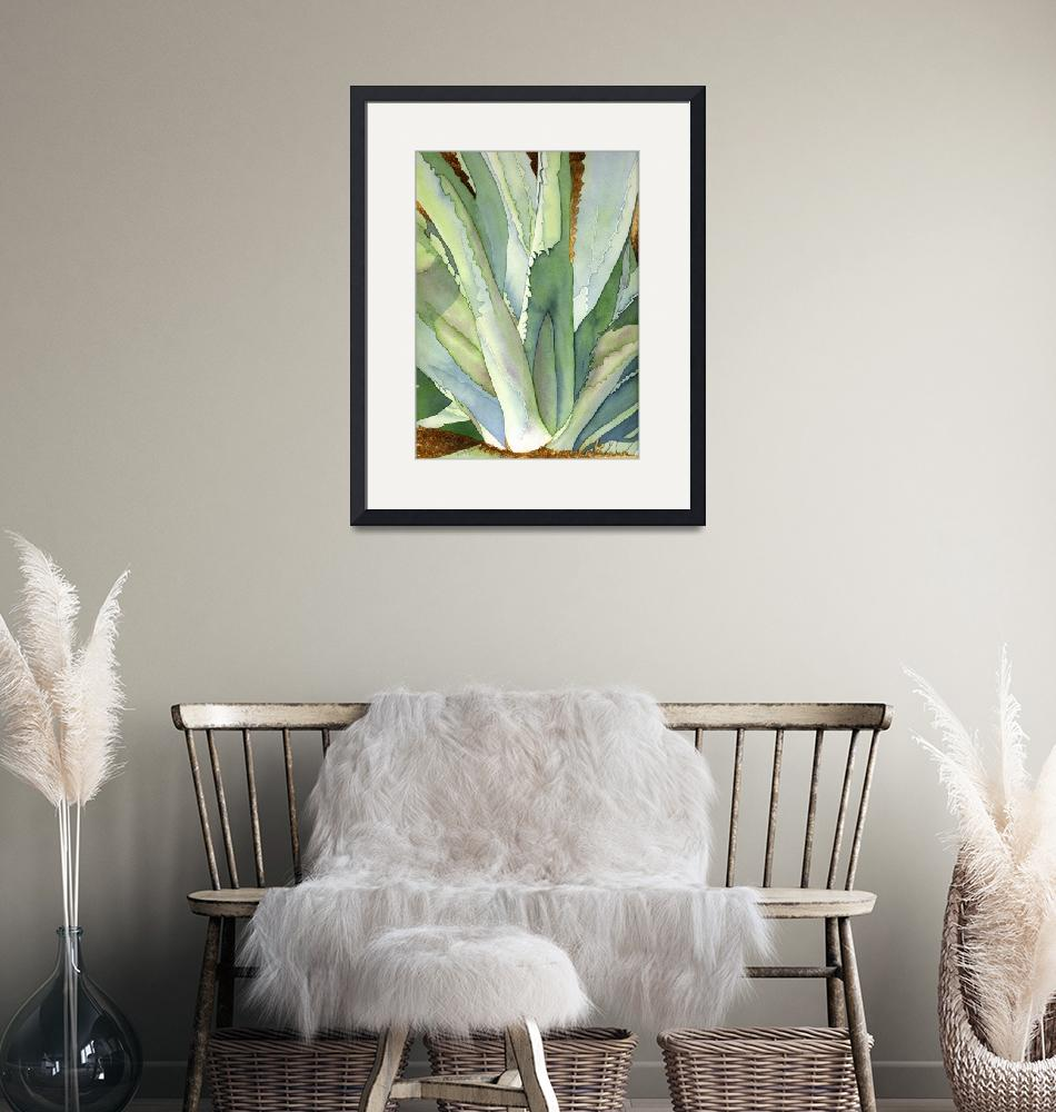 """""""Agave1"""" (2006) by art4fish"""