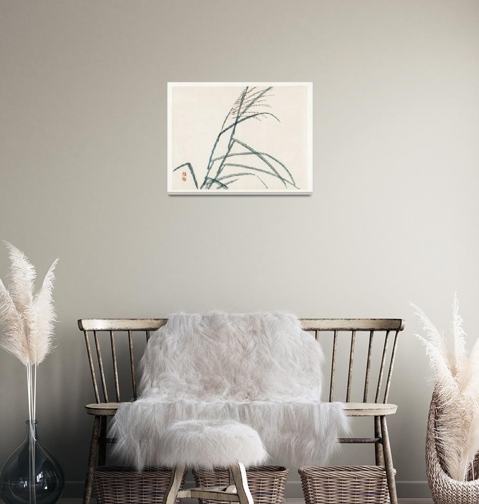 """""""Poaceae by Kono Bairei""""  by FineArtClassics"""
