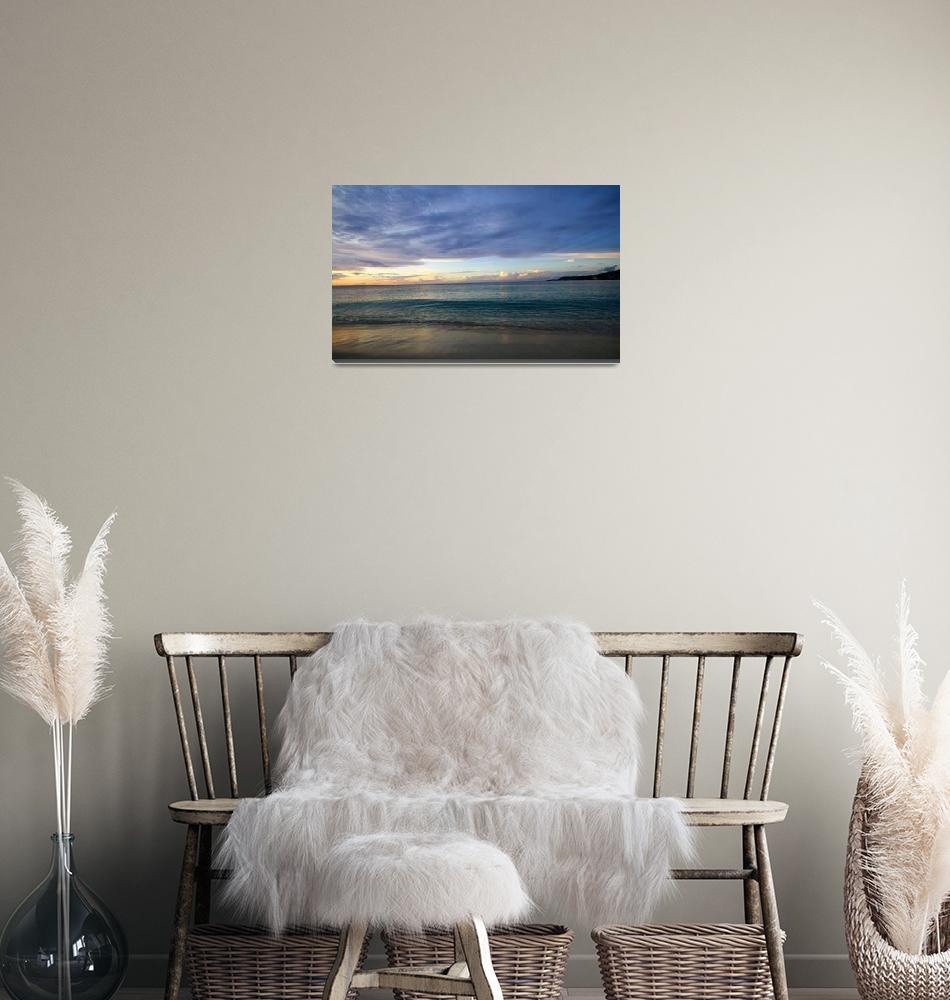 """Stormy Beach Skies""  (2011) by feophotos"