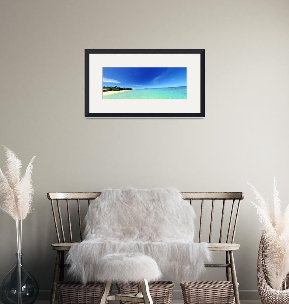 """""""Beach Panorama""""  (2008) by JoaoPonces"""