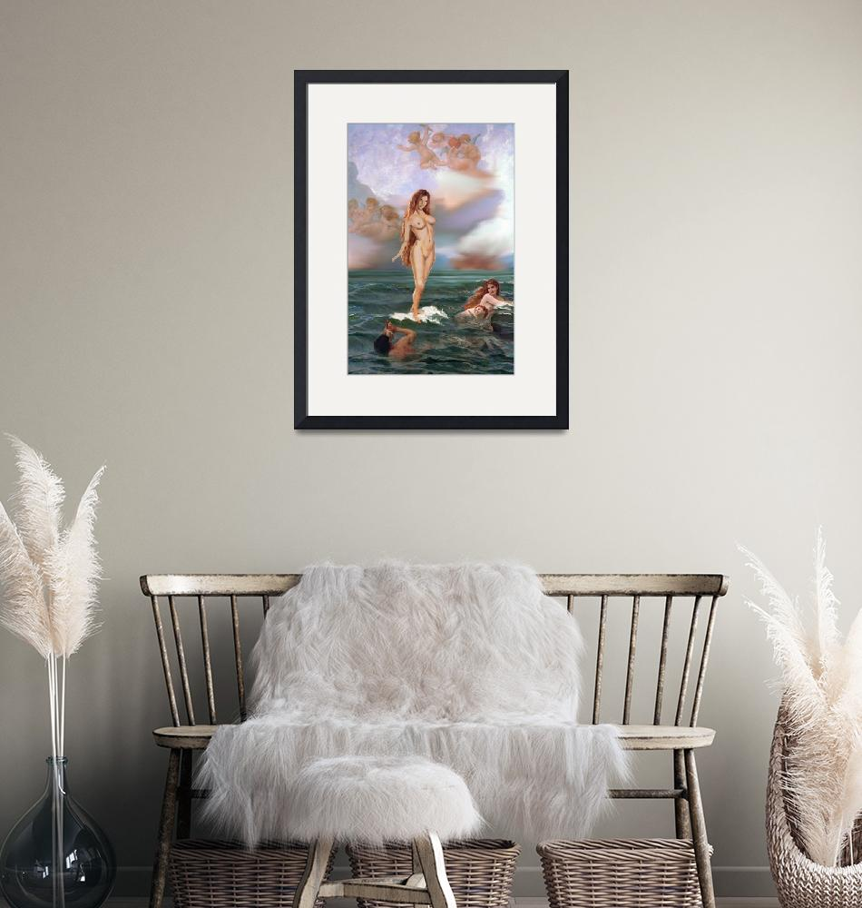 """""""TRADITIONAL MODERN FEMALE NUDE APHRODITE"""" by grl"""
