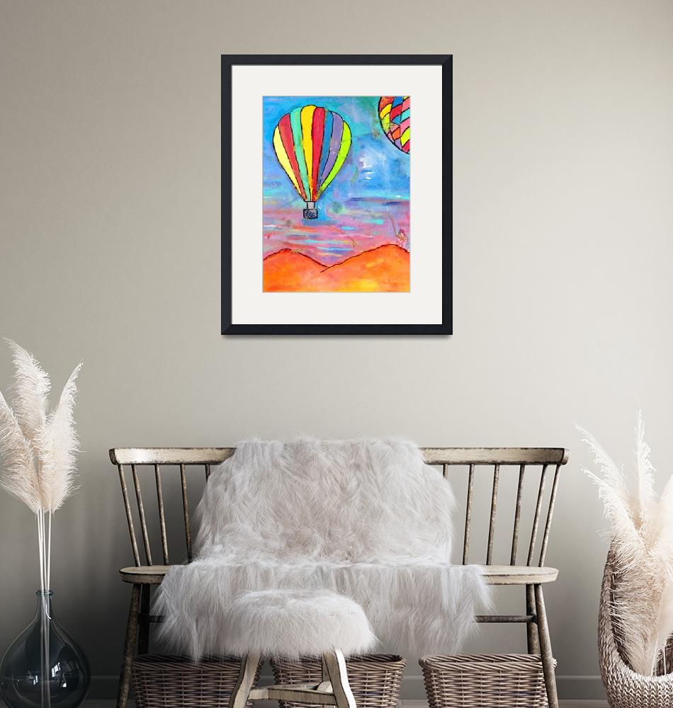 """""""Balloons Over New Mexico 3""""  by SimplyColor"""