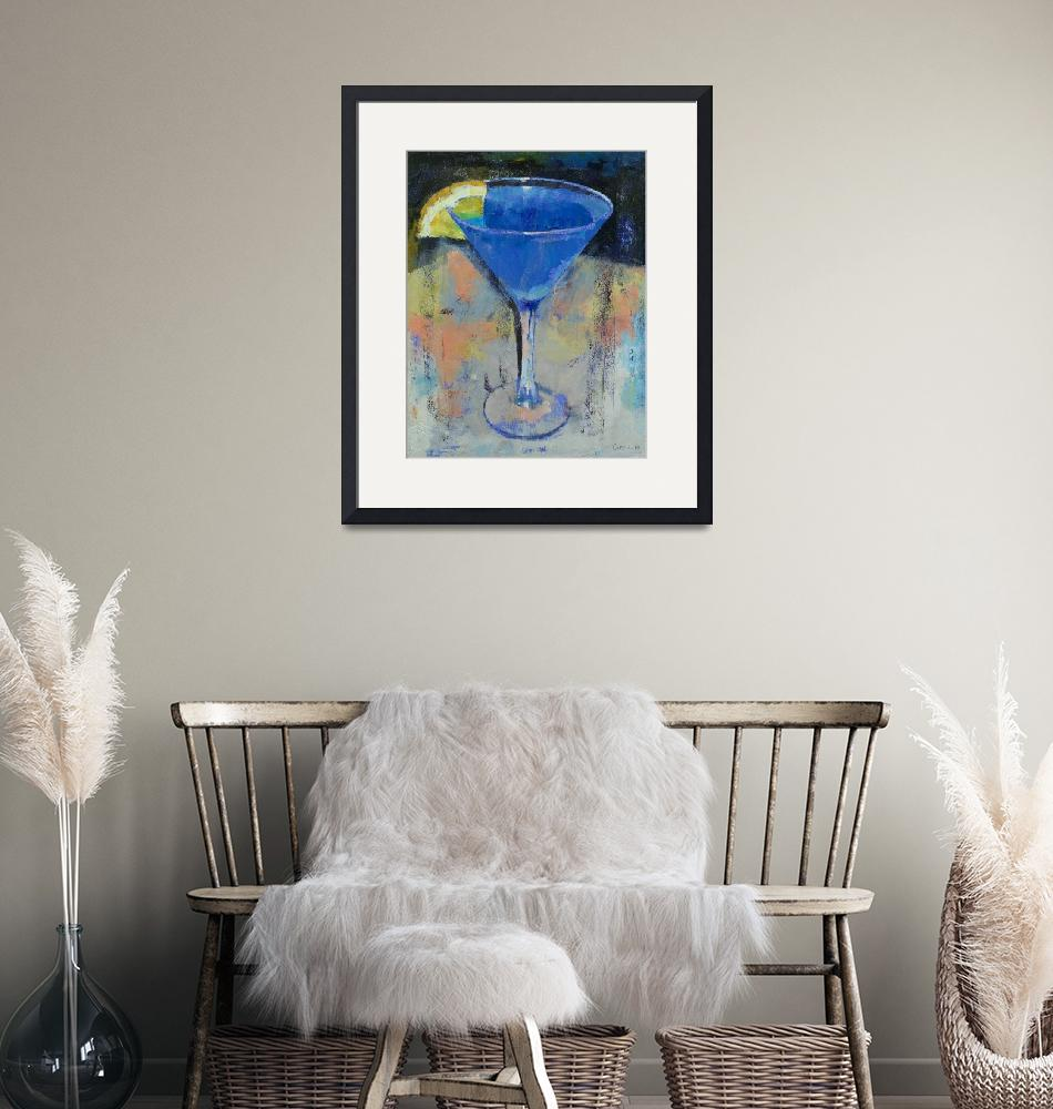 """""""Royal Blue Martini""""  by creese"""