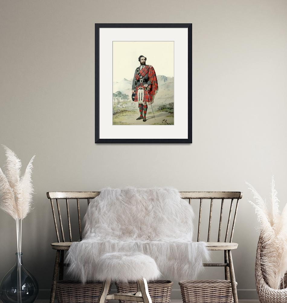 """Archibald MacDonald; Scottish Highlander (MacLeay)""  by DezineZone"