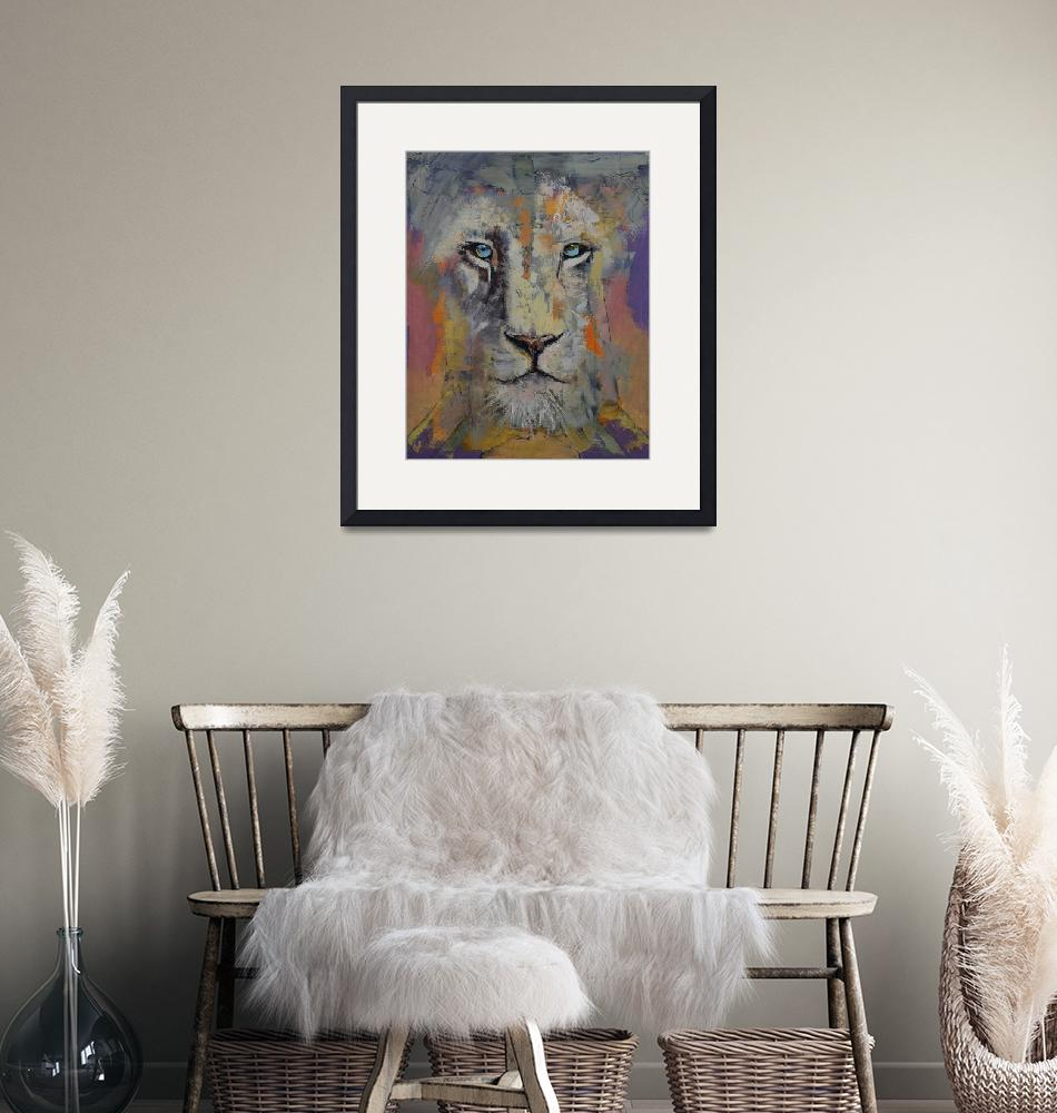 """""""White Lion""""  by creese"""