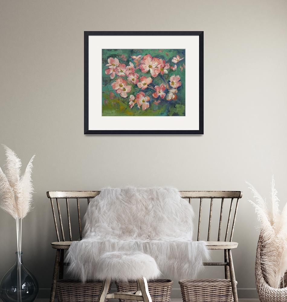 """""""Pink Dogwood""""  by creese"""