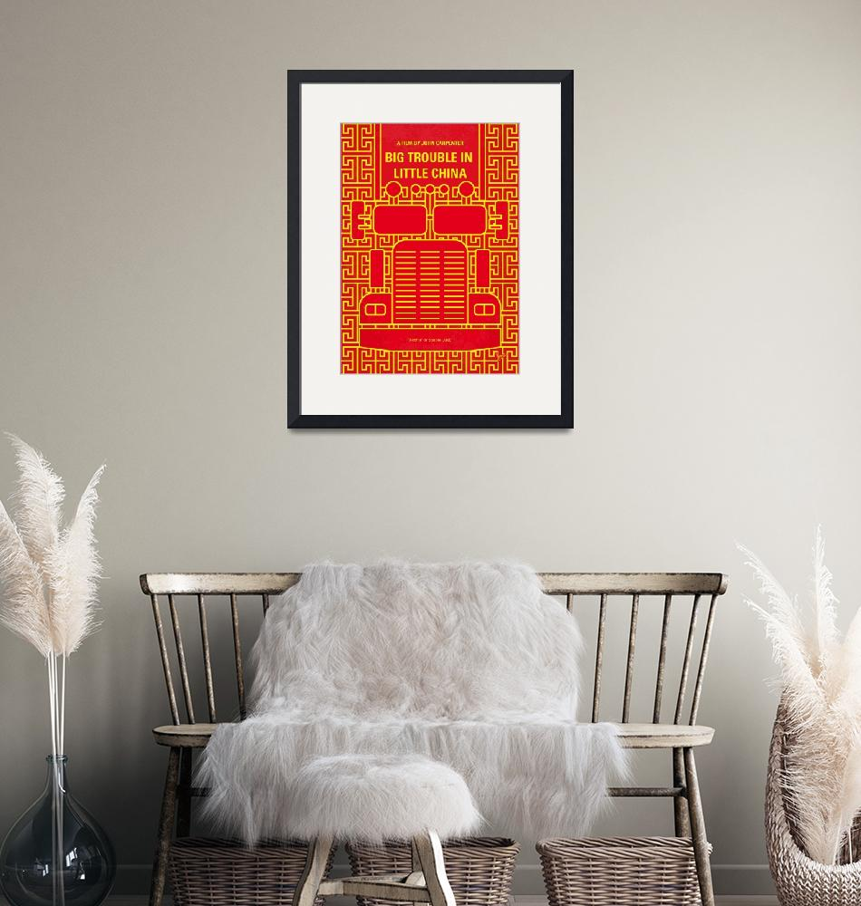 """""""No515 My Big Trouble in Little China minimal movie""""  by Chungkong"""