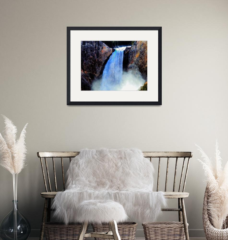 """""""Grand Canyon of the Yellowstone03""""  (2005) by NWExposures"""