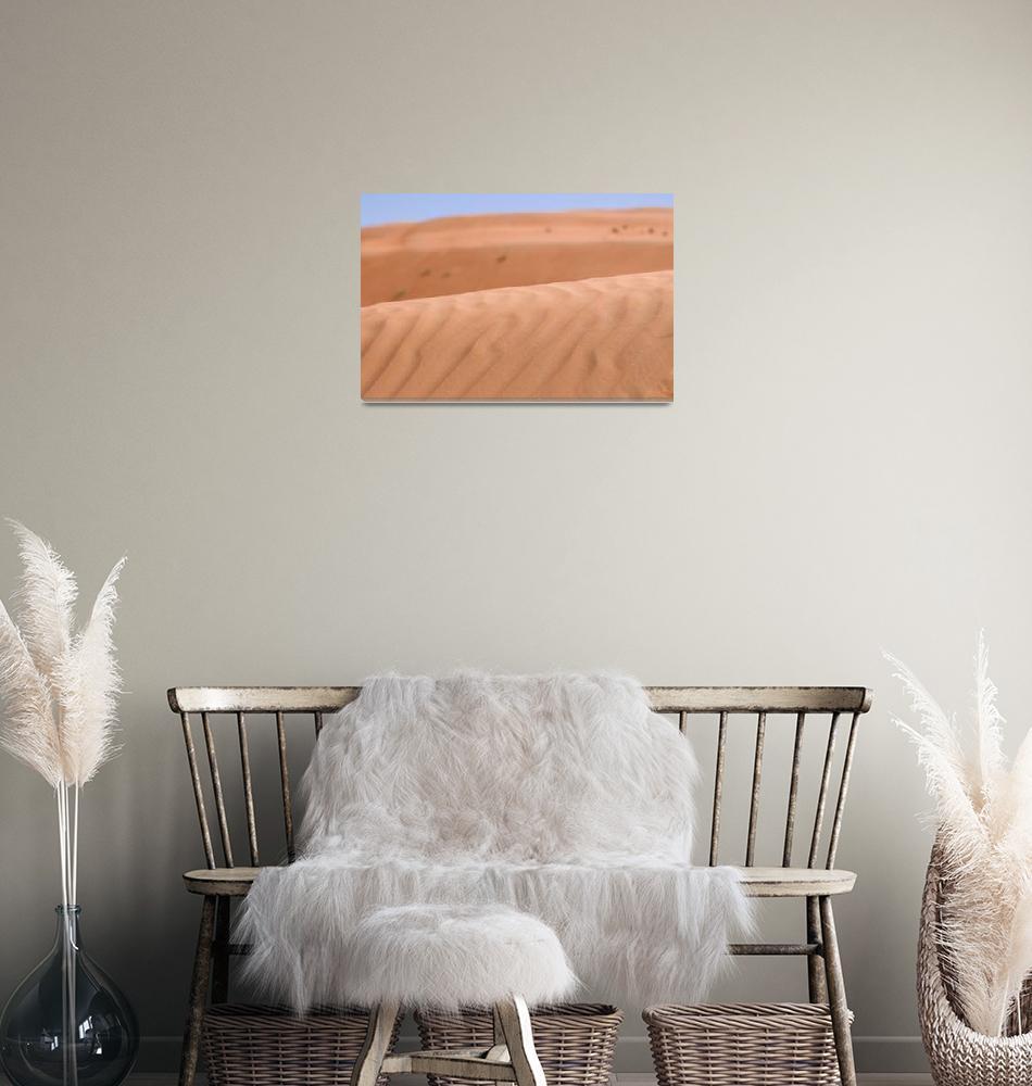 """Sand Dune Textures""  (2007) by dennisflood"