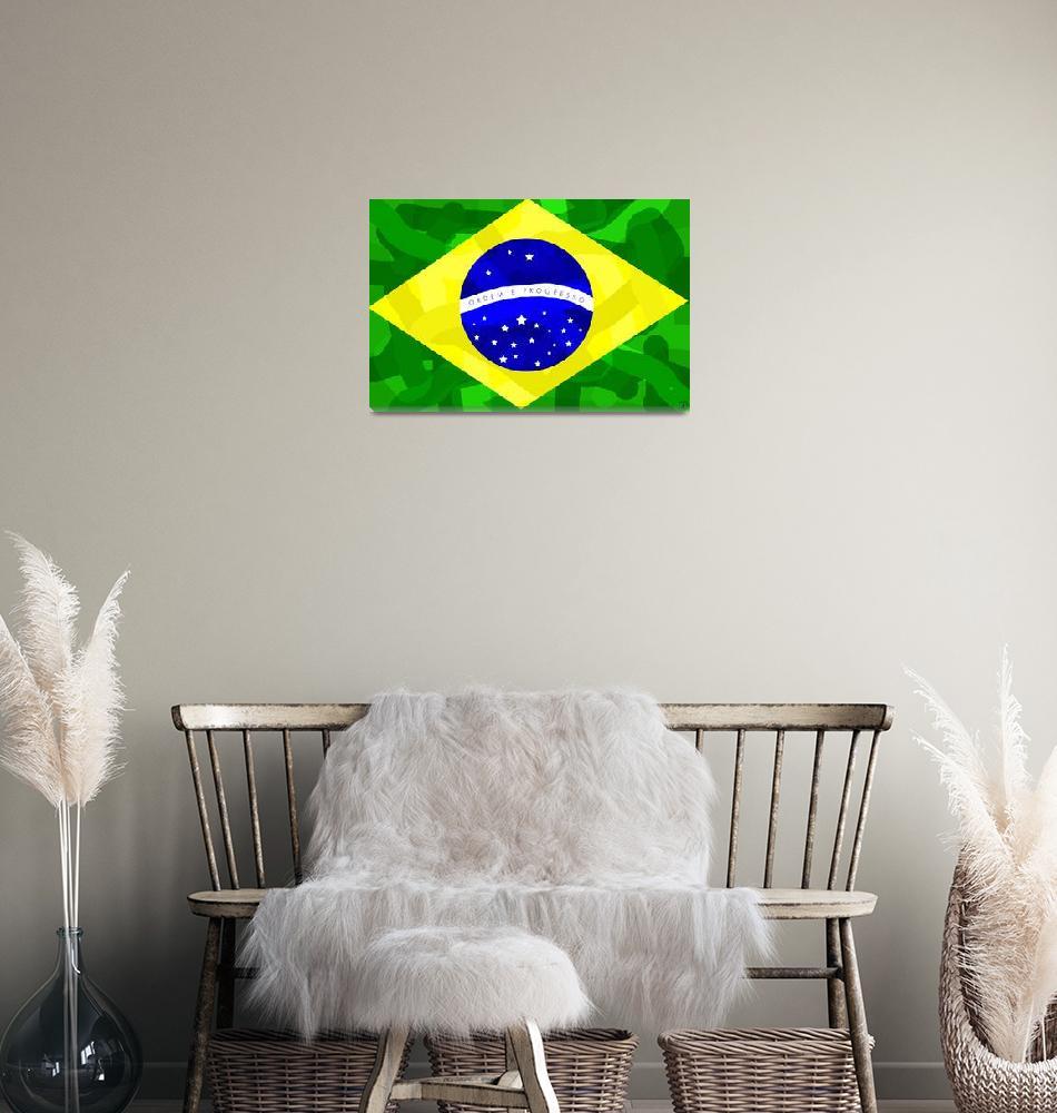 """Brazil Forever""  (2010) by ADDesigns"