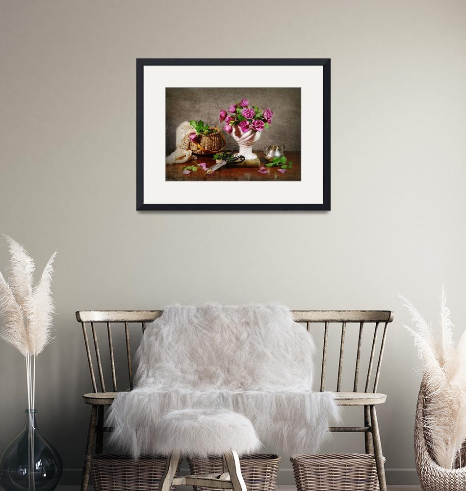 """""""Rose Clippings""""  by DianaLeePhotoDesigns"""