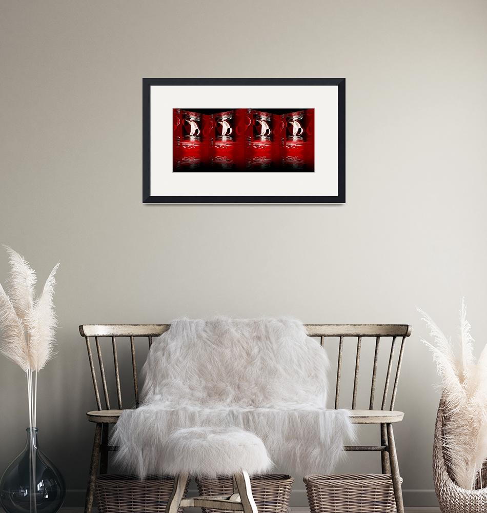 """""""Reflection In Red 2"""" (2009) by shanmaree"""