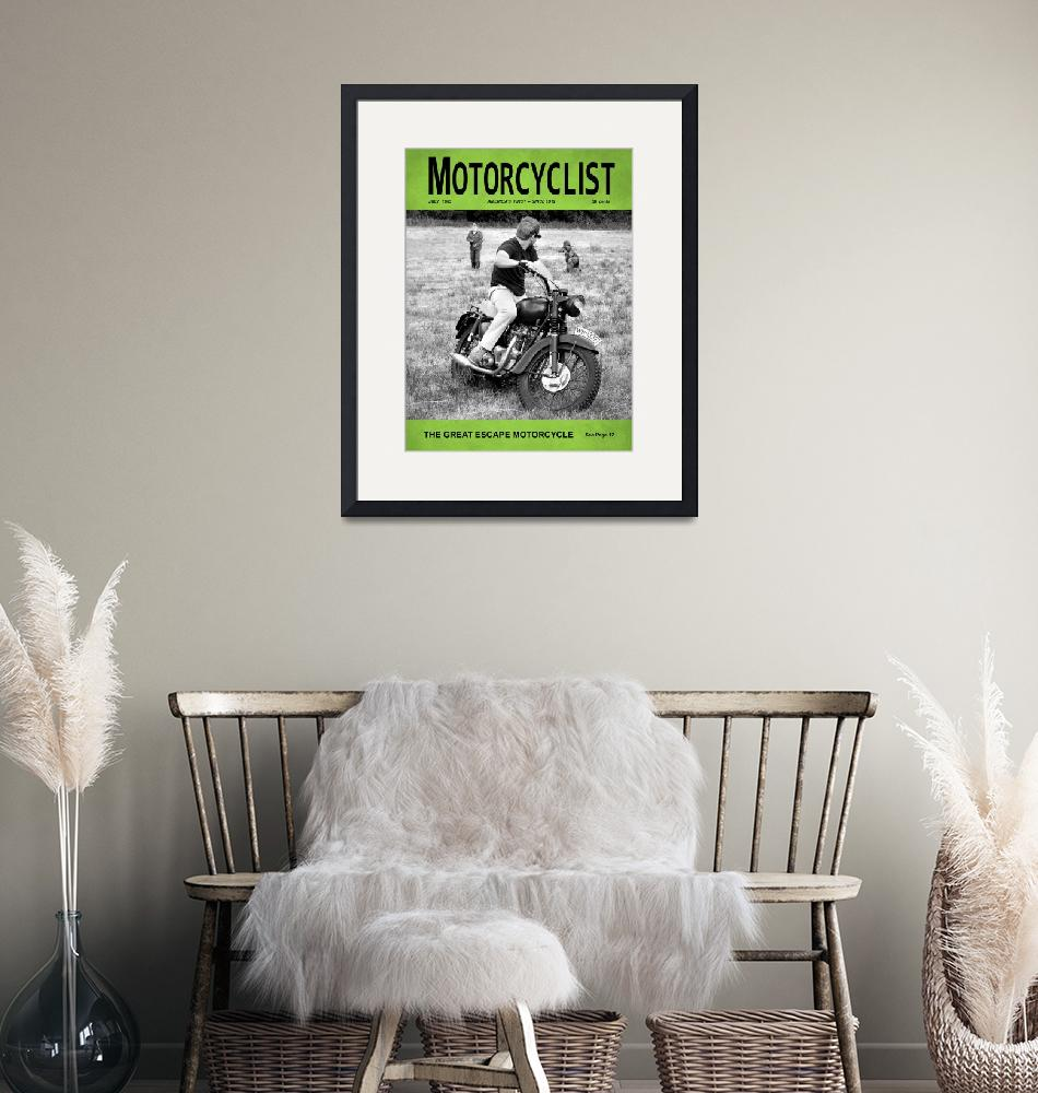 """Motorcycle Magazine Great Escape Motorcycle""  (2012) by mark-rogan"