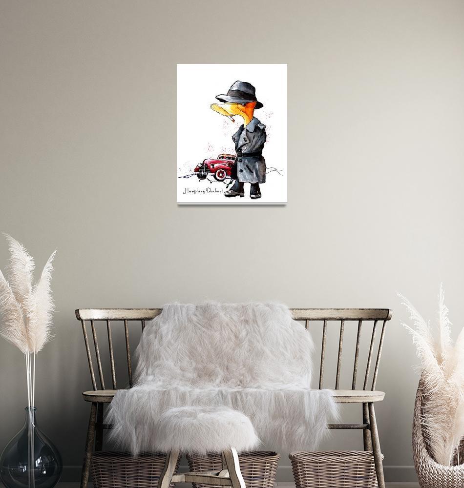 """""""Humphrey Duckart""""  (2020) by mikifonvielle"""