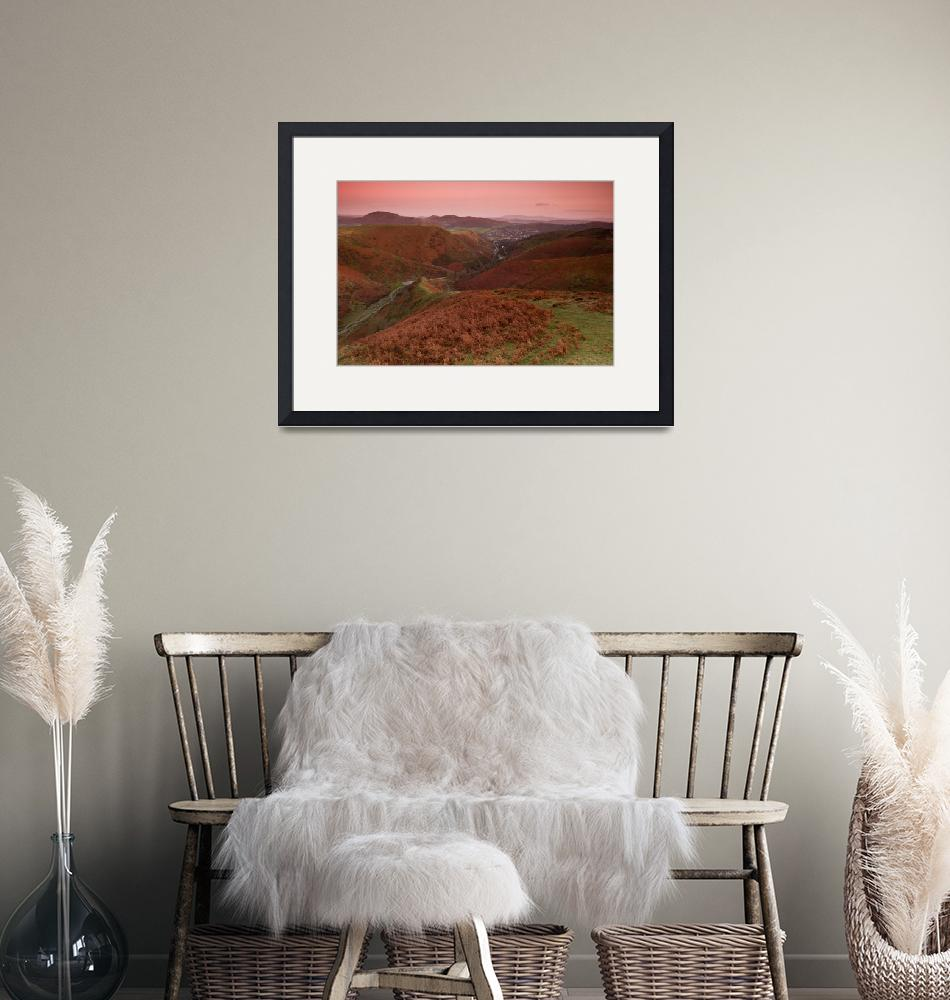 """""""Long Mynd - Carding Mill Valley""""  by egnerphotography"""