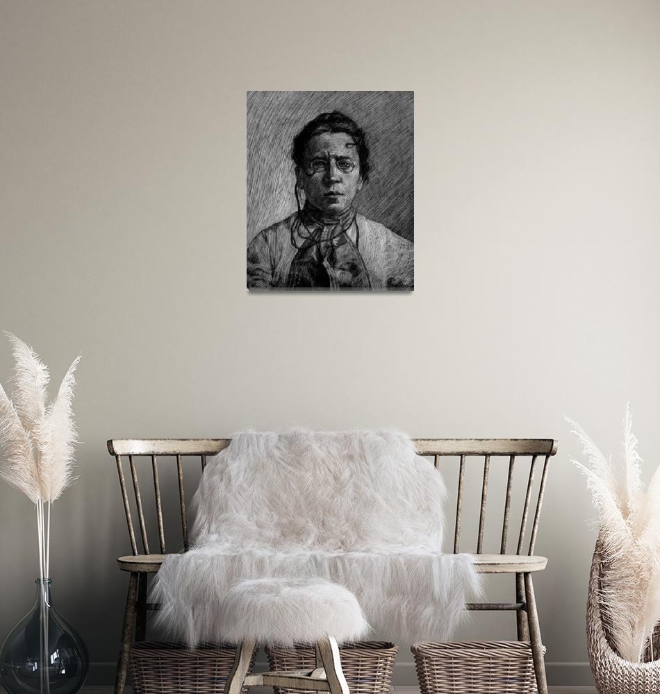 """""""Emma Goldman""""  (2008) by redd"""