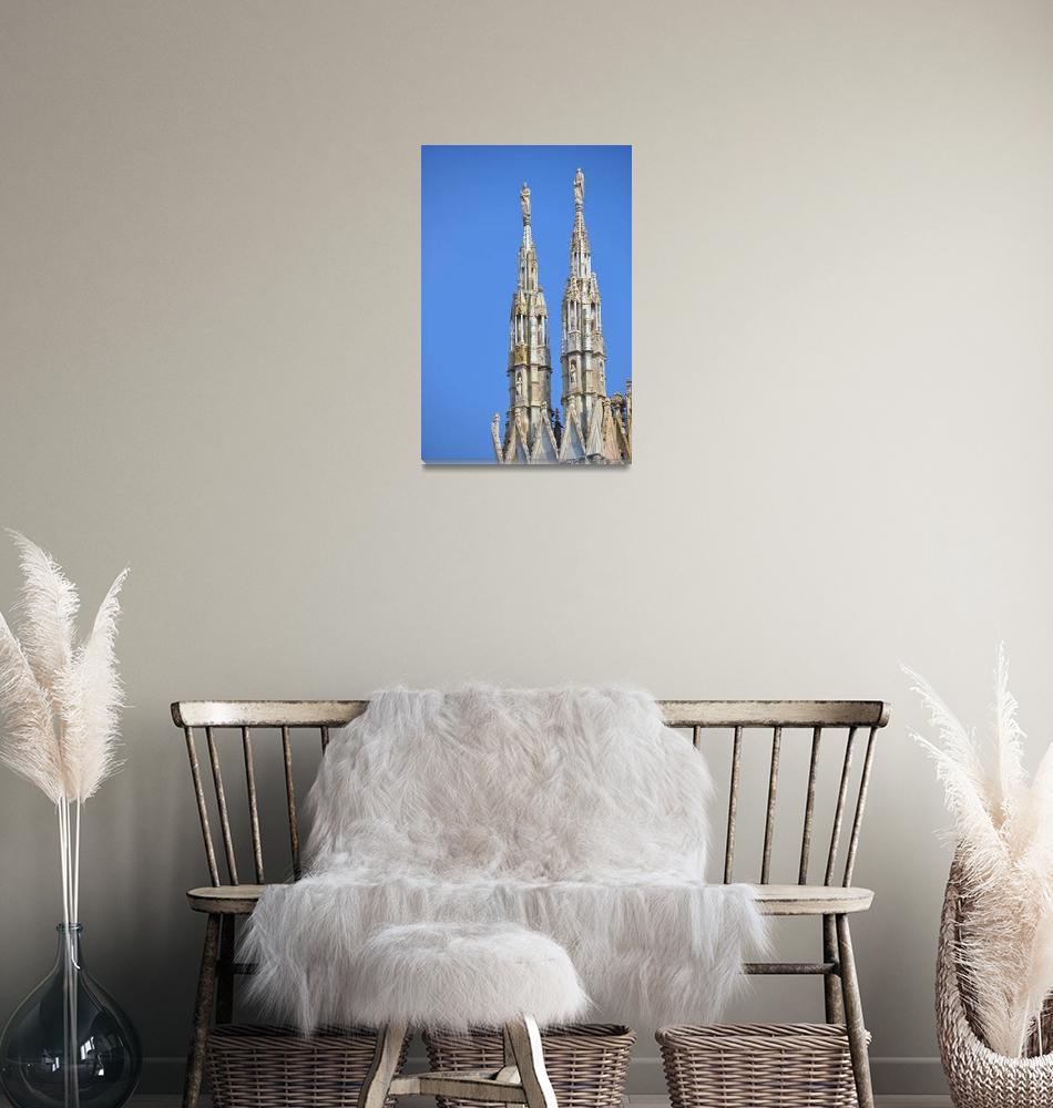 """""""Milan Cathedral""""  (2010) by Barrywright"""