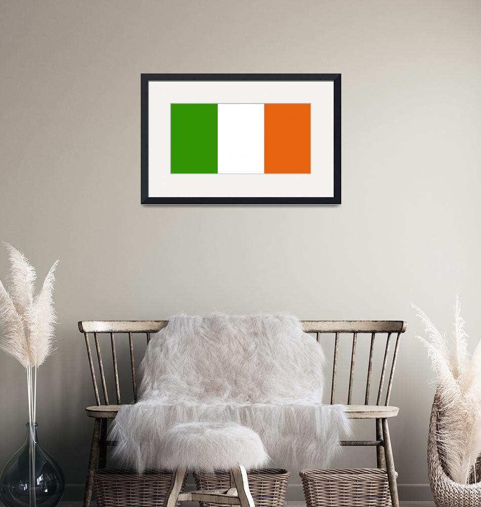 """tobias_Flag_of_Ireland""  by ArgosDesigns"