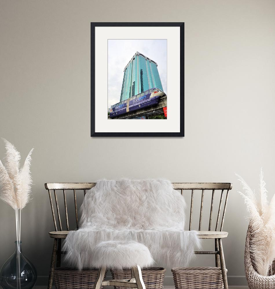 """""""KL Monorail""""  (2013) by JoaoPonces"""